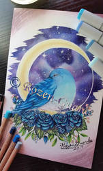 Bluebird Starlight by Rozen-Guarde