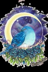 Bluebird-starlight-watermark by Rozen-Guarde