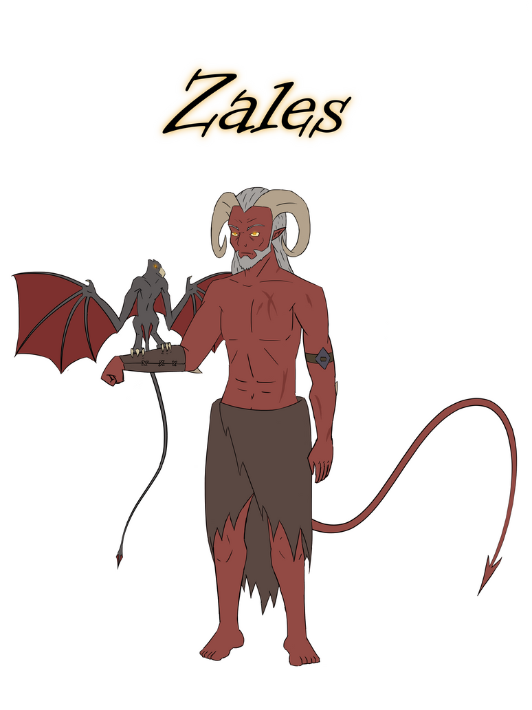 Zales - Tiefling Druid by Motion-Music