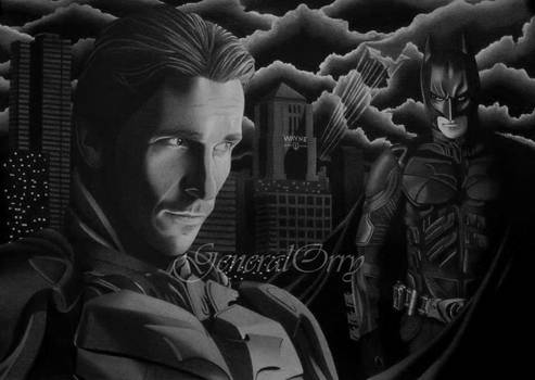 Drawing The Dark Knight 04 Bruce Wayne vs Batman