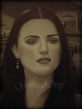 Drawing Katie McGrath 02