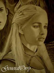 Daenerys Targaryen Emilia Clark Game Of Thrones 01
