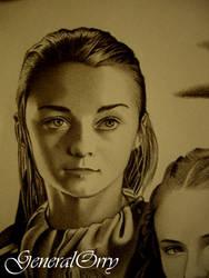 Arya Stark Maisie Williams Game Of Thrones 01