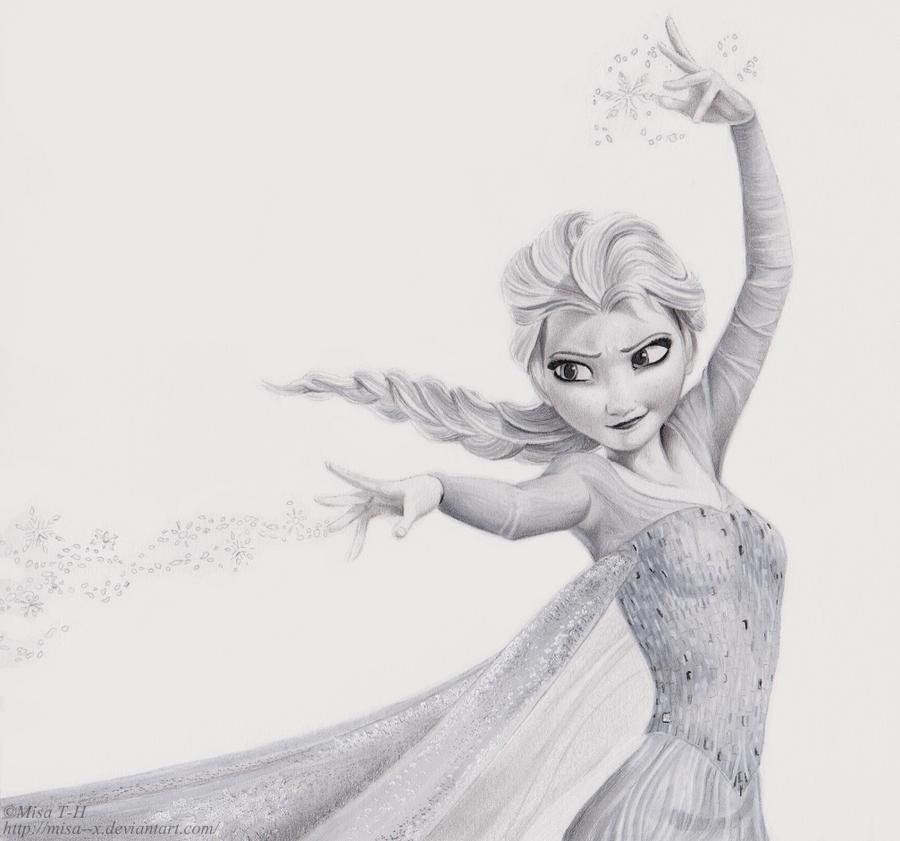 Elsa by Misa--x on DeviantArt