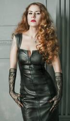 Leather Lady by Jinialia