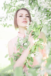 In spring by Jinialia