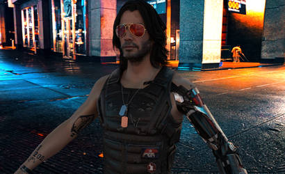 Cyberpunk 2077 Johnny Silverhand 3D Model
