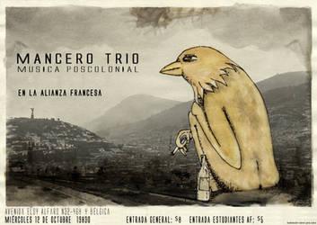 mancero trio (afiche)