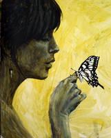 Butterfly Kiss by sceptikart