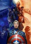 captain america by yangngi