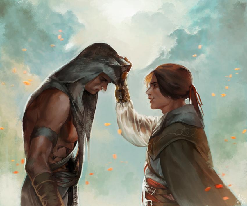 connor ezio by yangngiConnor And Ezio