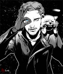 Star Lord. by yangngi