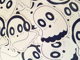 Napstablook Stickers