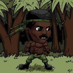 Commission - Black Rambo