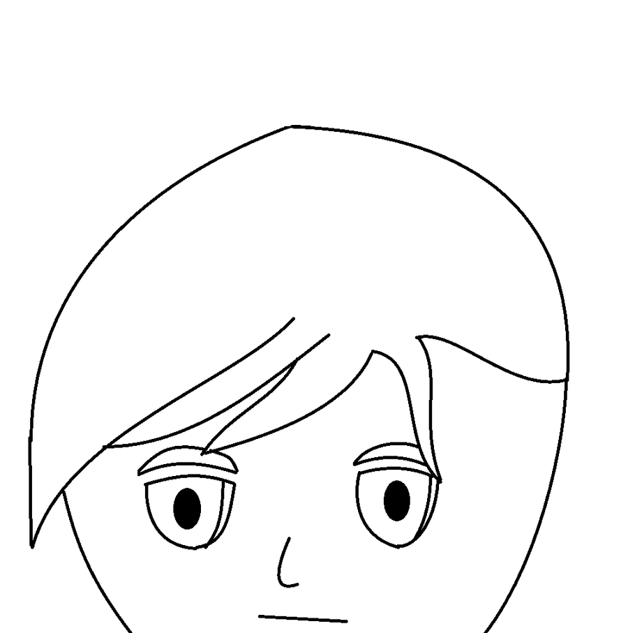 James head outline by Twilight-Knight1 on DeviantArt