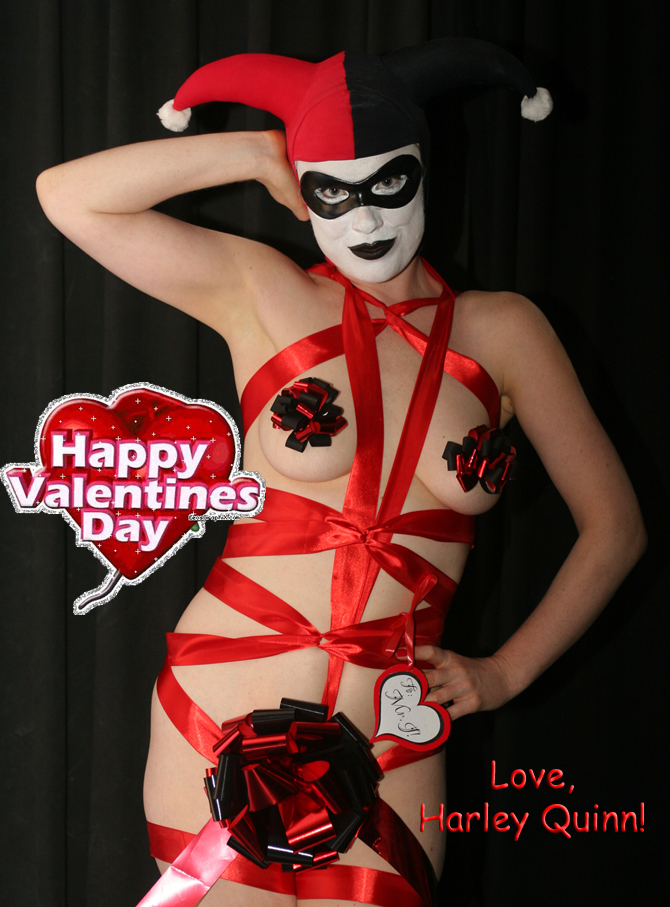 Valentine Wishes from Harley by theprincessbee