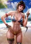 Summer Jessie [FinalFantasy VII Remake]