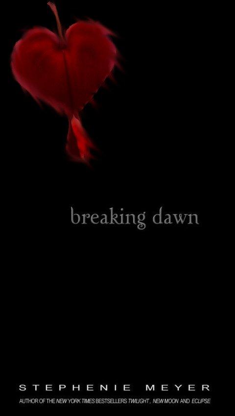 Breaking Dawn Book Cover Drawing ~ Breaking dawn by winchesterfan on deviantart