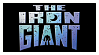 The Iron Giant -Stamp