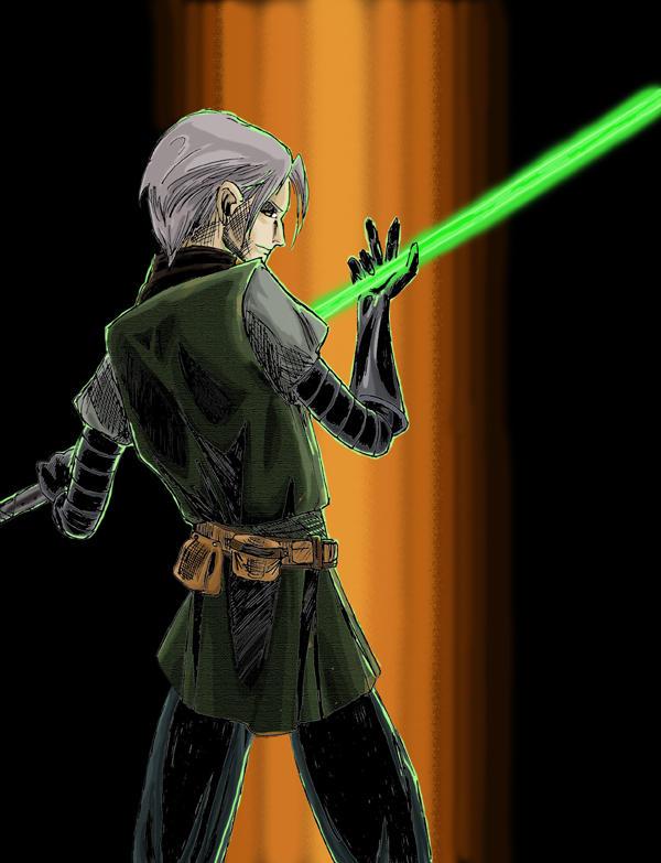 Karada Barkura,'Jedi Assassin' by TalesFromTheFringe