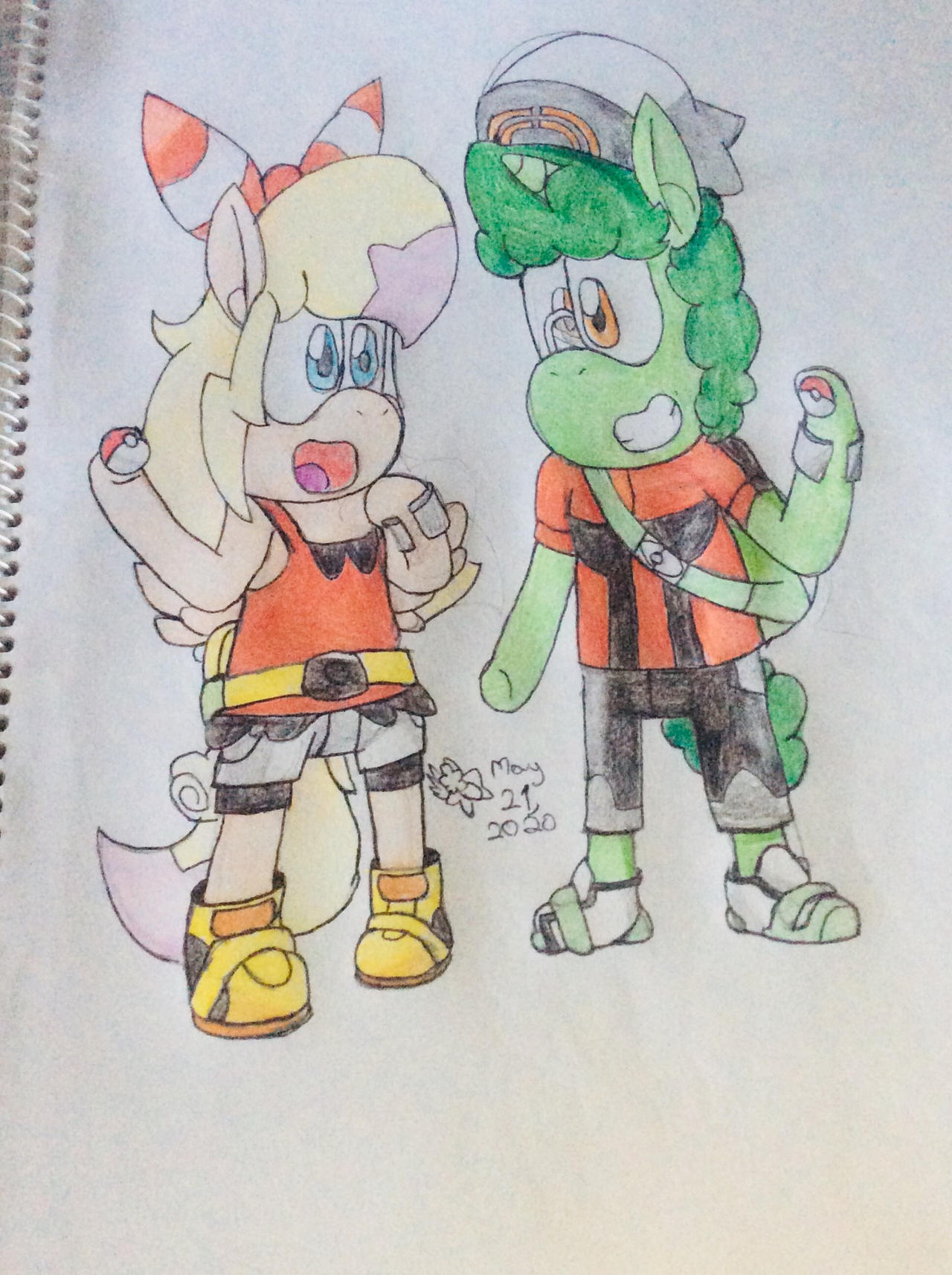 ORAS Derp Rose and Archie