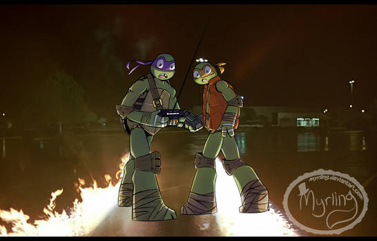 TMNT - Back to the future