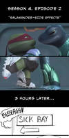 TMNT - Salamander side effects (S4 spoiler)