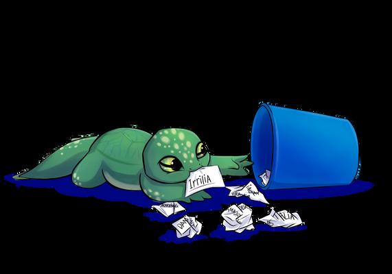 TMNT - Hamato Irrilia (turtle-salamandrian-hybrid)