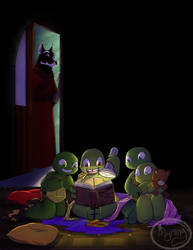 TMNT - Late night adventure by Myrling