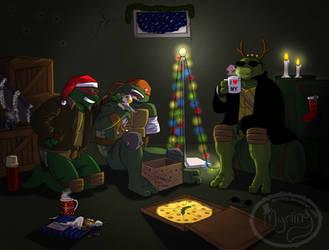 TMNT Secret Santa - SAINW (for Juliefofisss) by Myrling