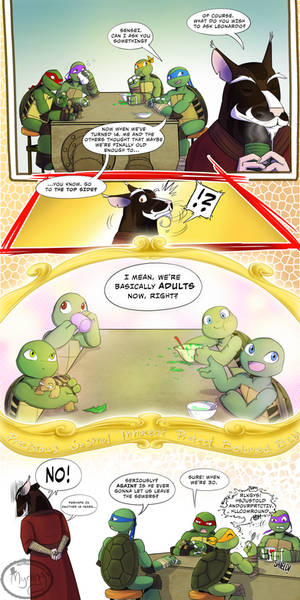 TMNT - Father perspective