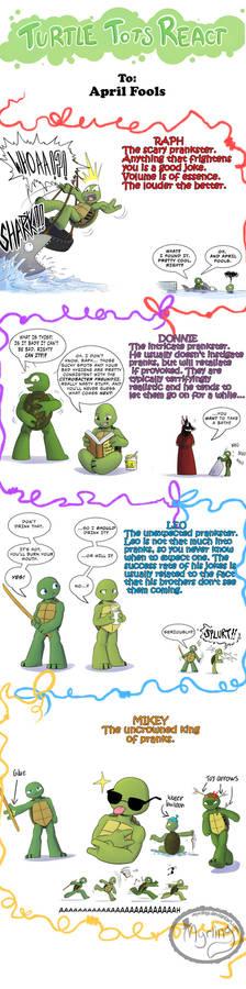 Turtle Tots React - April Fools