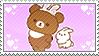 Koguma-chan/Chairoikoguma Bunny Stamp by Ittichy