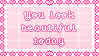 You look beautiful today by Ittichy