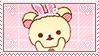 Korilakkuma Bunny Stamp by Ittichy