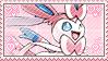 Sylveon Stamp [Pokemon] by Ittichy