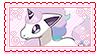 Galarian Ponyta Stamp