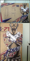 CM Punk On My Code27 Drawing Board