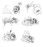 [Ambrollins] No You can't sleep in my bed by Tapla