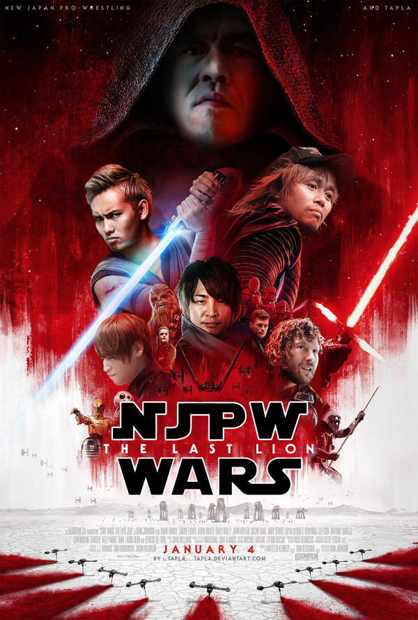 NJPW WARS :: THE LAST LION by Tapla