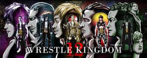 Wrestle Kingdom 12 by Tapla