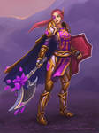 Commission: Blood Elf, Paladin