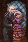 Blood Elf and Gnome