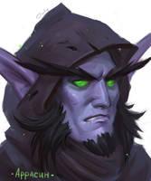 My Demon Hunter by lowly-owly