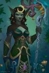 Worgen Druid Commission