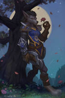 worgen commission by lowly-owly