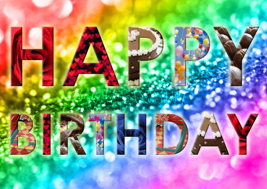 Happy Birthday Card By Flufflyneko On Deviantart