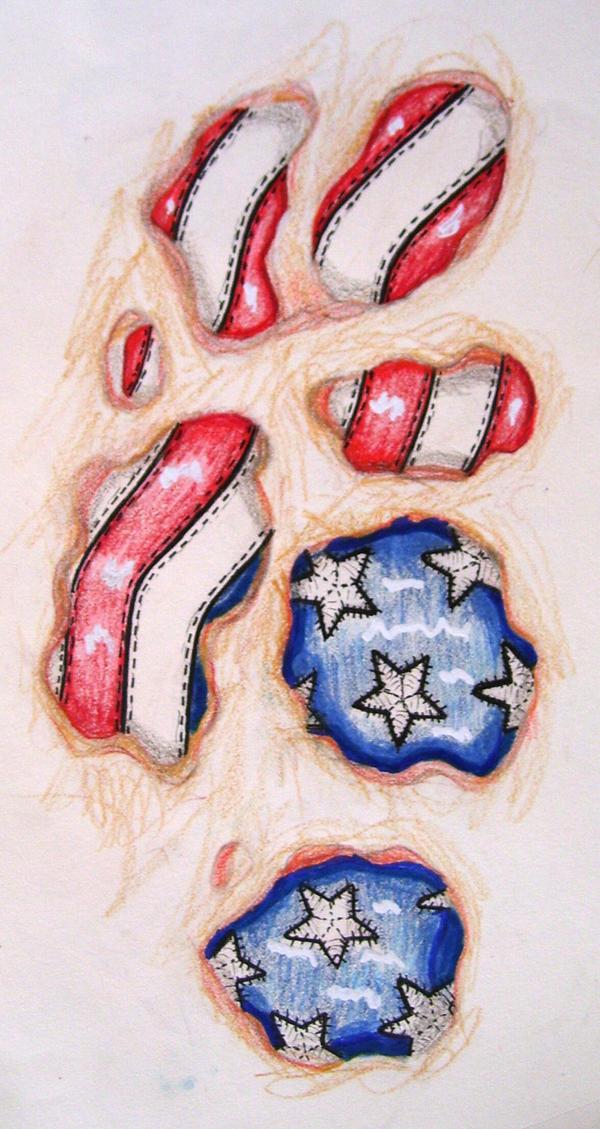 Usa under my skin tattoo by bikerchickie on deviantart for Under the skin tattoo