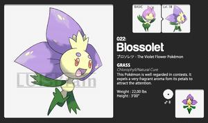 022: Blossolet