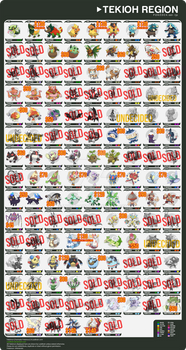 Tekioh Region Fakedex [SALE UPDATE #4]